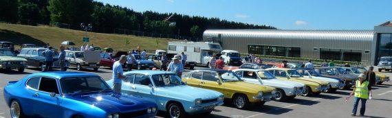 National Day at the Old Ford Rally, Gaydon, Warwickshire
